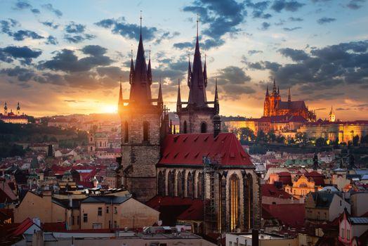 Tynsky temple in Prague