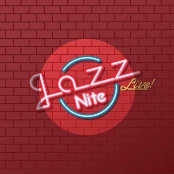 neon sign jazz night