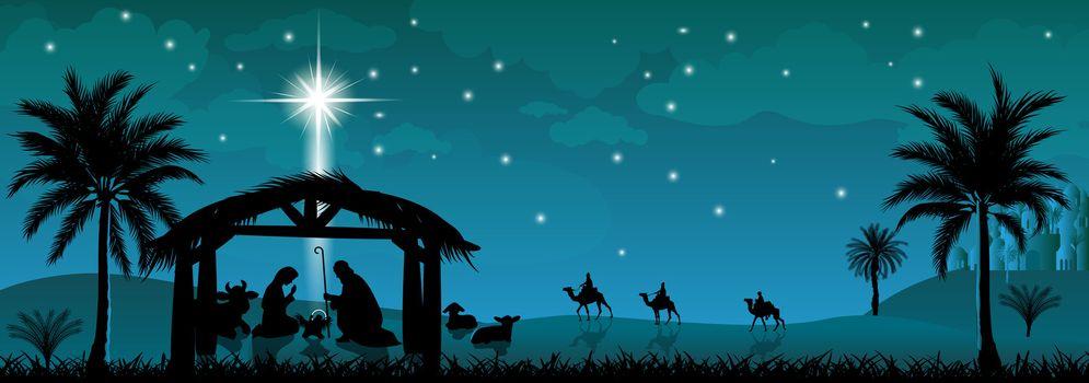Holy Family, Nativity Scene