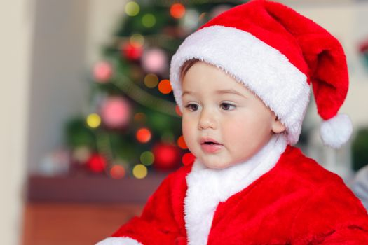 Cute little Santa