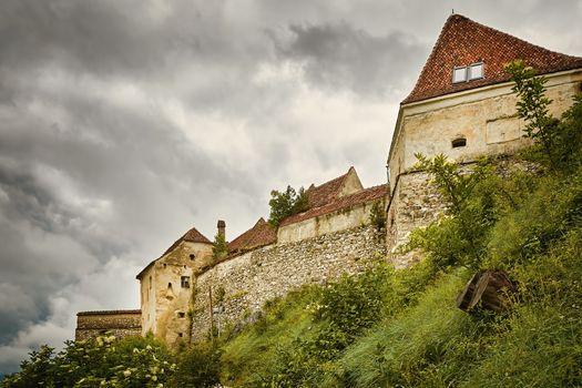 Rasnov Citadel (Rosenauer Burg) in Transylvania, Romania