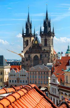 Tynsky cathedral Prague