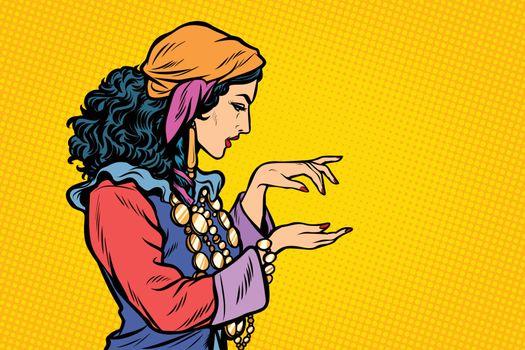 Woman fortune teller Gypsy