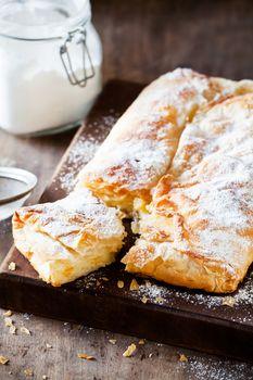 Homemade Custard Pie