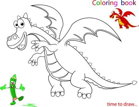Contour of the Dragon, sketch