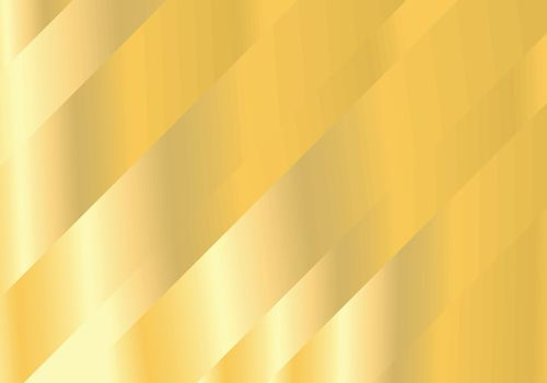 Abstract oblique bright gold background. Vector illustration