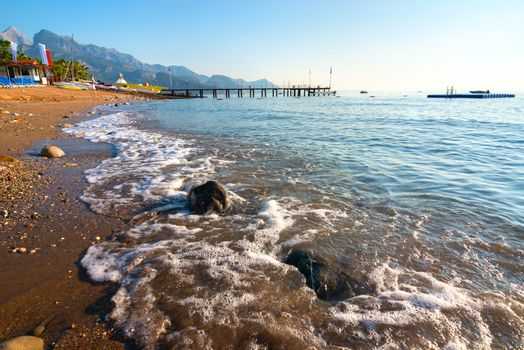 Mediterranean sea at morning