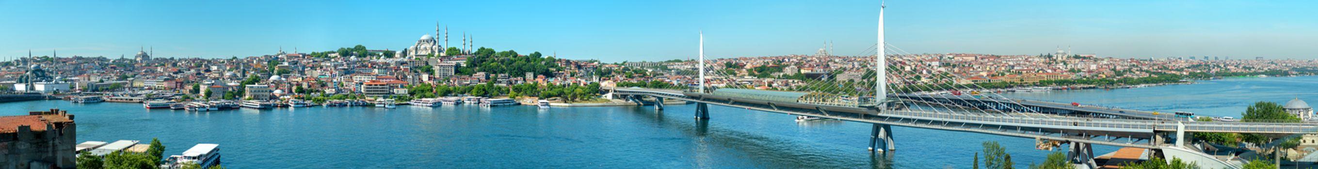Panorama Istanbul Turkey