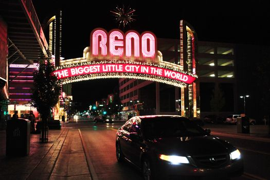 Welcome Sign, Reno, Nevada