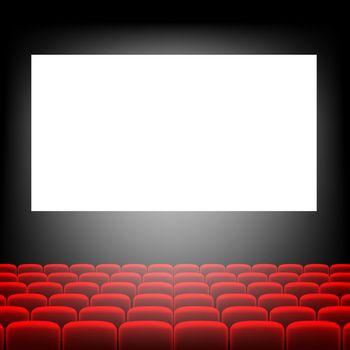 Cinema Screen With Screen