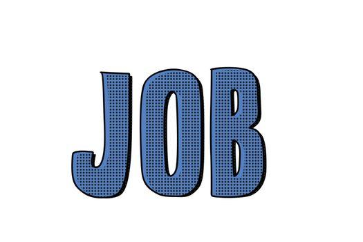 job word inscription
