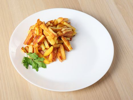 just fried potatoes