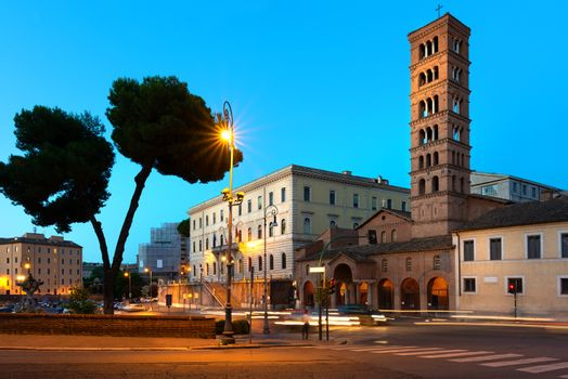 Bell tower in Rome