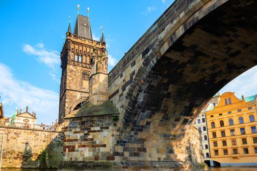 Charles bridge from below
