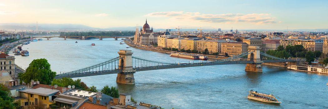Evening over Budapest