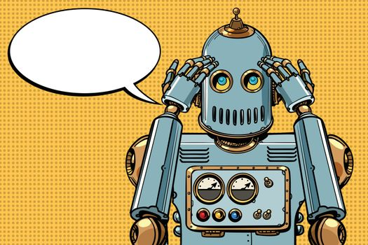 the robot thinks, thinker