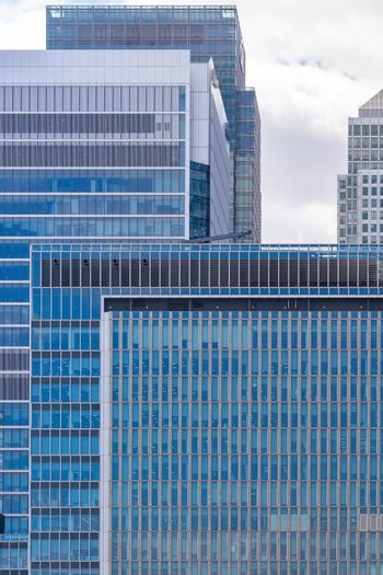 Skylines building at Canary Wharf in London UK