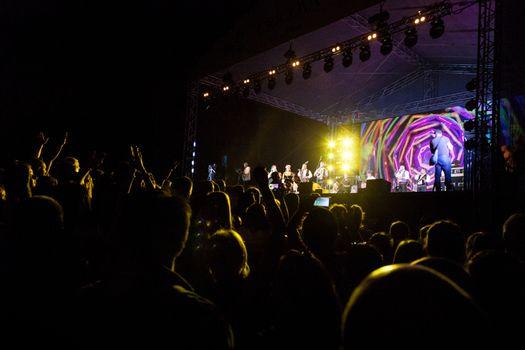 Traditional concert of Balkan folk music