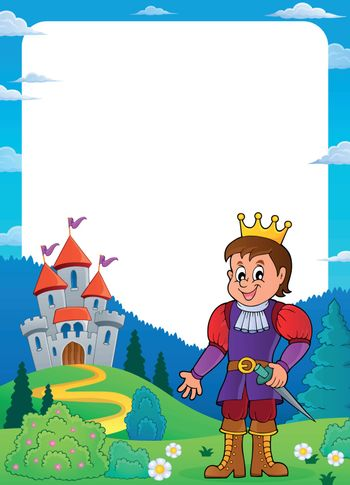Prince and castle theme frame 1