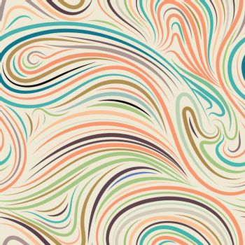 Abstract background by hand drawling.