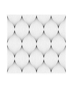 Seamless pattern, Black line.