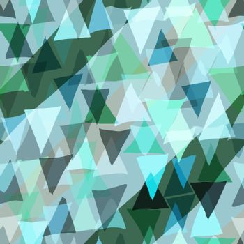 Color triangle seamless background.