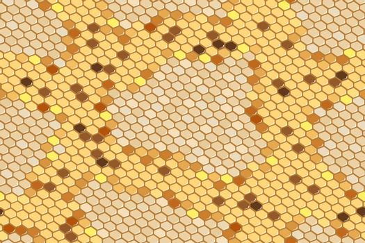 Python skin seamless background on vector graphic art.