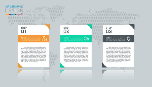 Business infographic with 4 labels.