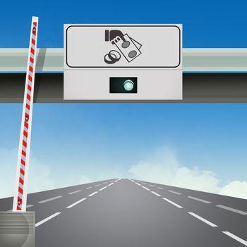 motorway exit