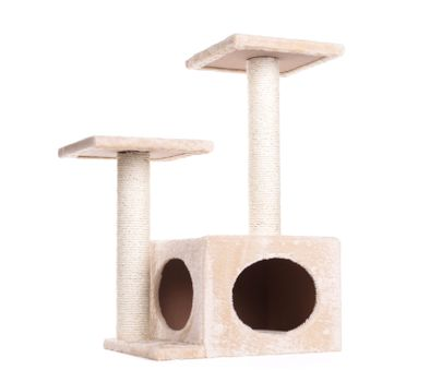 Scratch post, isolated