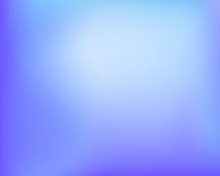 Abstract light blue violet bright blured gradient background. Vector llustration