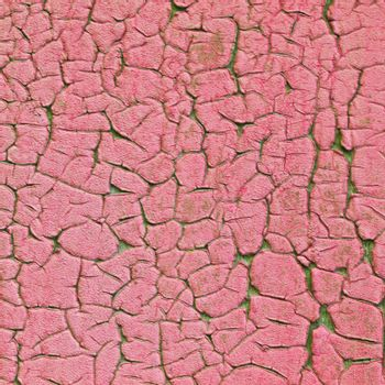 Old pink painted grunge texture