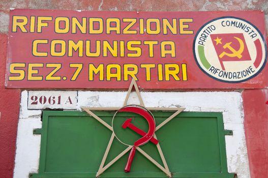 Venue Communist Party, Venice, Italy