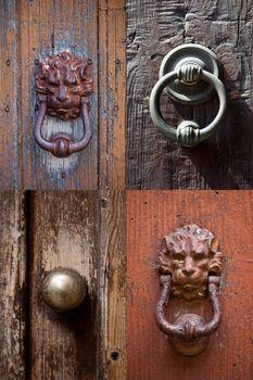 Ancient italian door knockers