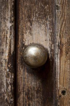 Ancient italian door handle