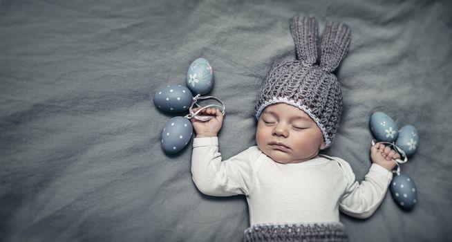 Happy little Easter bunny