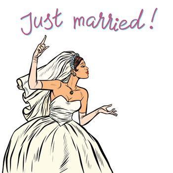 bride just married