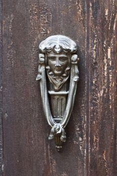 Ancient italian door knocker.