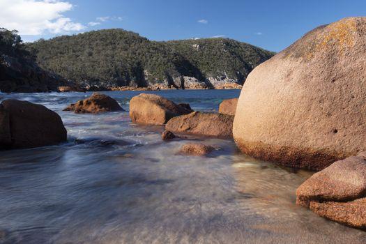 Sleepy Bay in Freycinet National Park, Tasmania