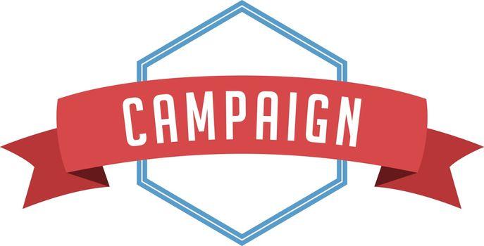 retro vintage badge label campaign