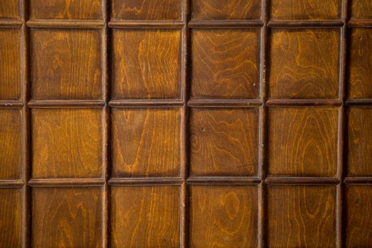 Wood texture with checked patterns as background