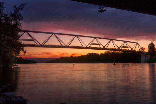 New bridge over Nepean River Penrith
