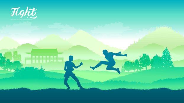 China warriors martial arts