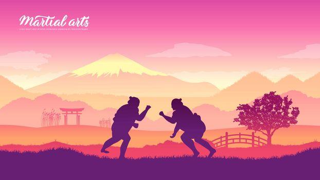 Japan warriors martial arts