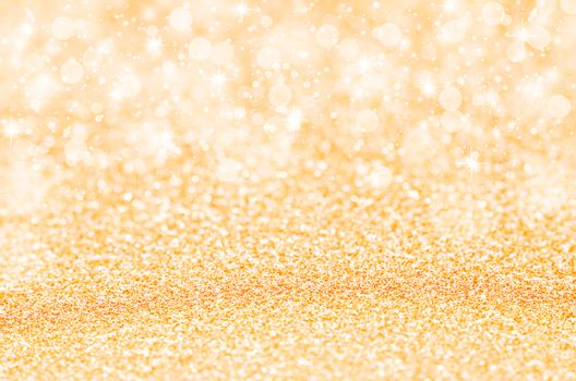 abstract golden glitter background.
