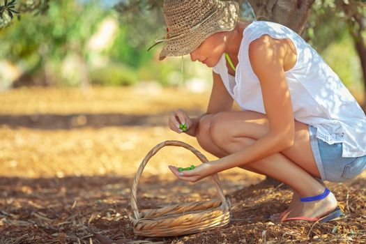 Young farmer woman