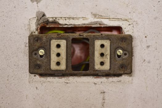 Absolutely unsafe electrical socket