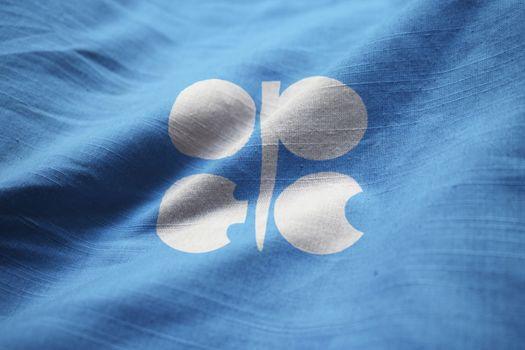 Closeup of Ruffled Organization of the Petroleum Exporting Count