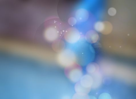 Beautiful bokeh made of blurred lights on colorfull background, Abstract defocused colorful blurred background. Abstract light background