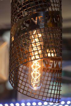 Decorative style filament light bulbs